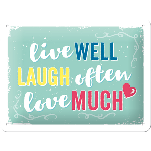 Bilde av Live Laugh Love