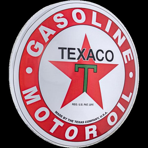 Texaco Button