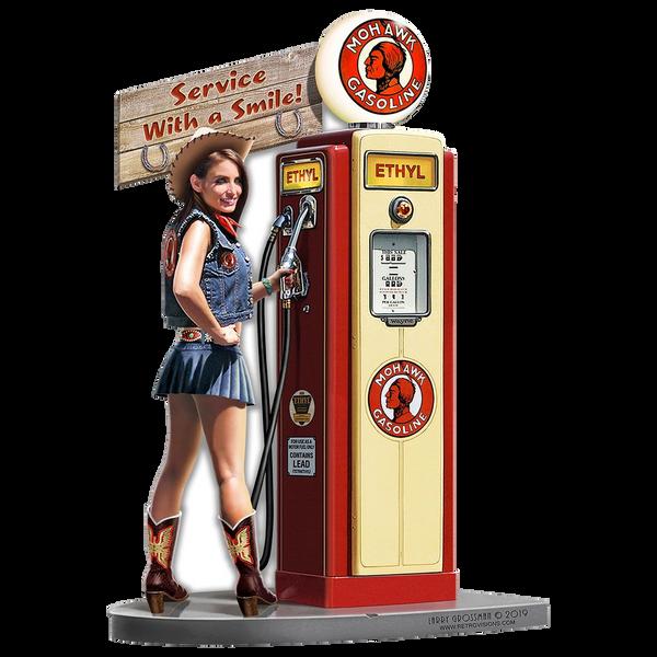 Bilde av Mohawk Gas Pump Girl