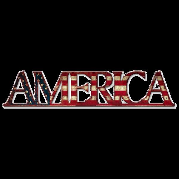 Bilde av America Flag Vintage