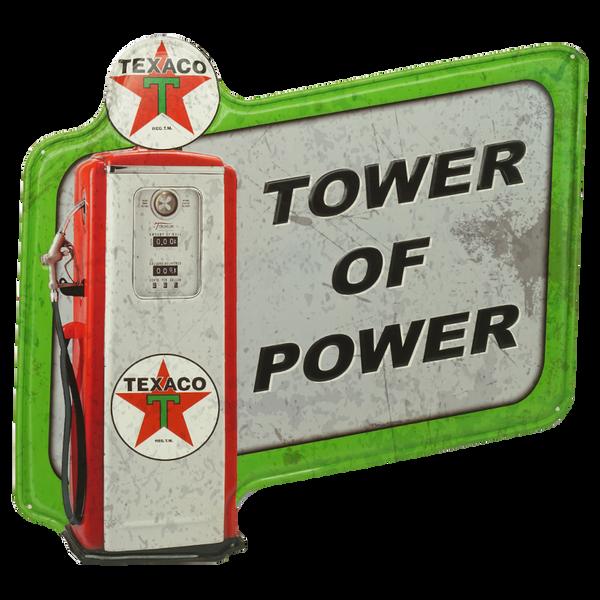 Bilde av Texaco Tower of Power Diecut