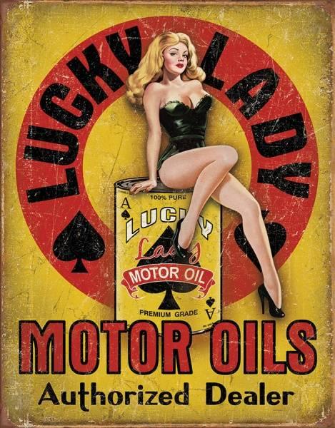 Bilde av Lucky Lady Motor Oil