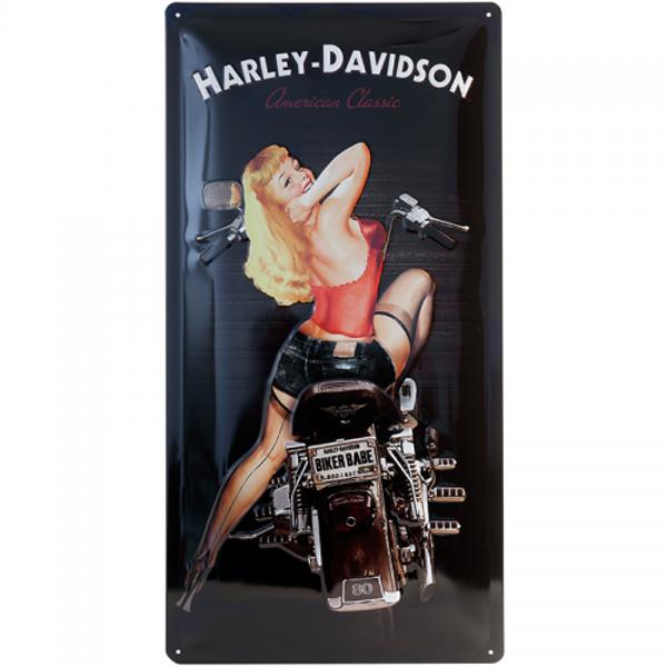 Harley-Davidson Biker Babe 25x50