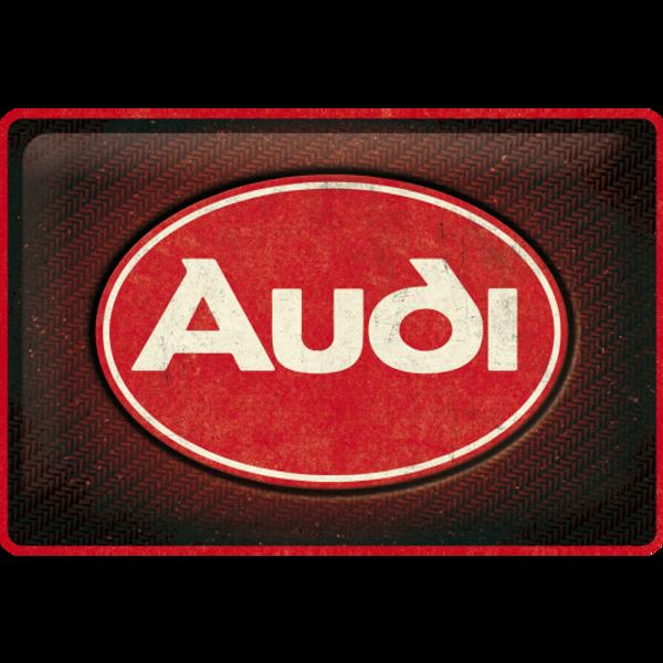 Bilde av Audi Logo Red Shine