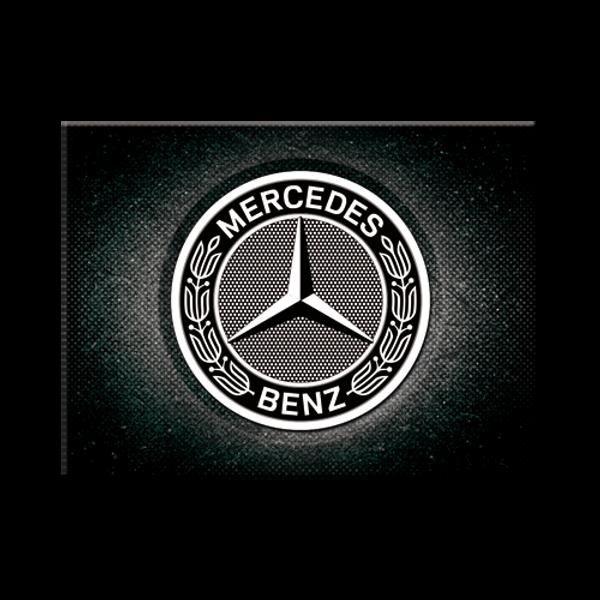 Bilde av Mercedes-Benz Logo Black