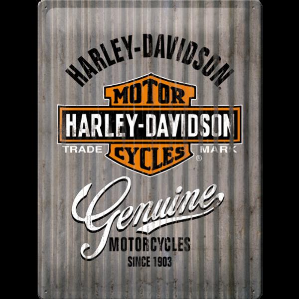 Bilde av Harley-Davidson Metal Wall