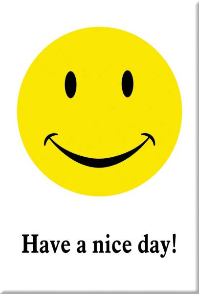 Bilde av Have A Nice Day Smiley