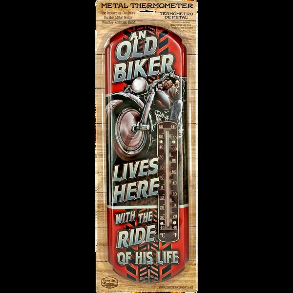 Old Biker Lives Here