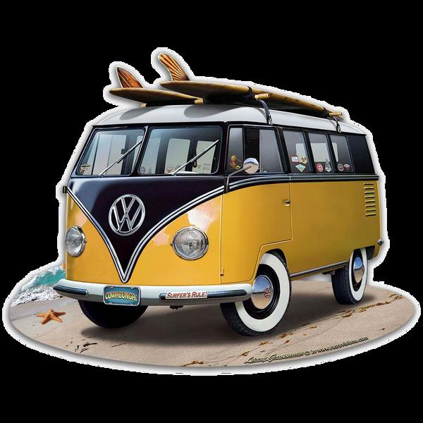 Bilde av Volkswagen Bus Yellow